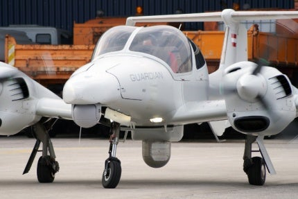 DA42 MPP GUARDIAN Surveillance Aircraft.